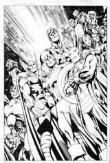 Imprimer le coloriage : Avengers, numéro 398358