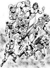 Imprimer le coloriage : Avengers, numéro 398360