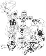 Imprimer le coloriage : Avengers, numéro 424226