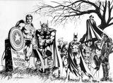 Imprimer le coloriage : Avengers, numéro 425406