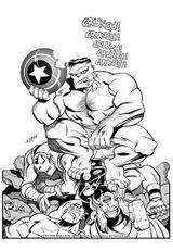 Imprimer le coloriage : Avengers, numéro 469798