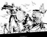 Imprimer le coloriage : Avengers, numéro 475564