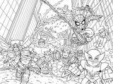Imprimer le coloriage : Avengers, numéro 54560