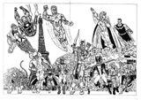 Imprimer le coloriage : Avengers, numéro 601189