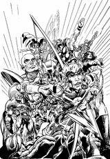 Imprimer le coloriage : Avengers, numéro 607981