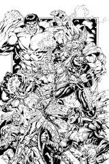 Imprimer le coloriage : Avengers, numéro 627266