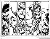Imprimer le coloriage : Avengers, numéro 677712