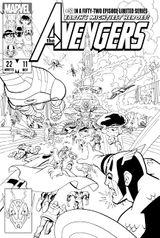 Imprimer le coloriage : Avengers, numéro 754135
