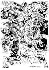 Imprimer le coloriage : Avengers, numéro c089b73b