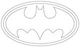 Imprimer le coloriage : Batman numéro 13075