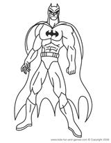 Imprimer le coloriage : Batman numéro 13085