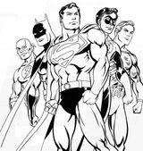 Imprimer le coloriage : Batman numéro 13458