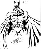 Imprimer le coloriage : Batman numéro 13474