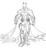Imprimer le coloriage : Batman numéro 14074