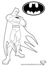 Imprimer le coloriage : Batman numéro 15722