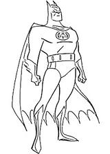 Imprimer le coloriage : Batman numéro 55675