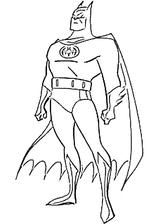 Imprimer le coloriage : Batman numéro 9031