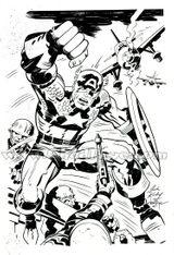 Imprimer le coloriage : Captain America, numéro 10136645