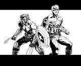 Imprimer le coloriage : Captain America numéro 17602