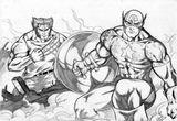Imprimer le coloriage : Captain America numéro 17605
