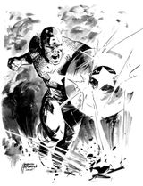 Imprimer le coloriage : Captain America, numéro 17613