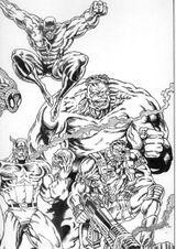 Imprimer le coloriage : Captain America, numéro 2604