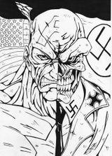 Imprimer le coloriage : Captain America, numéro 26822