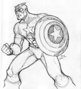 Imprimer le coloriage : Captain America numéro 27983