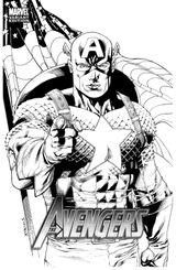 Imprimer le coloriage : Captain America, numéro 559000