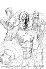 Imprimer le coloriage : Captain America, numéro 62864