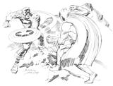 Imprimer le coloriage : Captain America numéro 6611