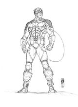Imprimer le coloriage : Captain America, numéro a1243598