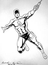Imprimer le coloriage : Daredevil numéro 17625