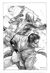 Imprimer le coloriage : Daredevil, numéro 17632