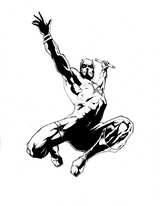 Imprimer le coloriage : Daredevil, numéro 17636