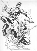 Imprimer le coloriage : Daredevil numéro 17641