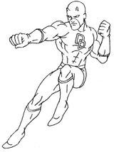 Imprimer le coloriage : Daredevil numéro 2586
