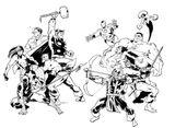 Imprimer le coloriage : Daredevil, numéro 427a2f24
