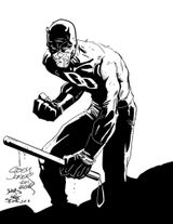 Imprimer le coloriage : Daredevil, numéro 5124