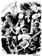 Imprimer le coloriage : Daredevil, numéro baed8044