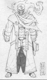Imprimer le coloriage : Ghost Rider, numéro 15698