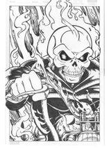 Imprimer le coloriage : Ghost Rider, numéro 17655