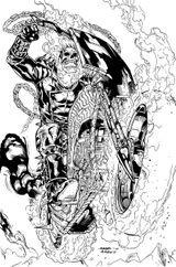 Imprimer le coloriage : Ghost Rider, numéro 17931