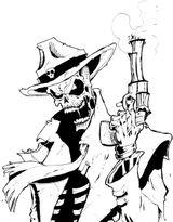 Imprimer le coloriage : Ghost Rider, numéro 17932