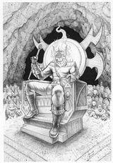 Imprimer le coloriage : Ghost Rider, numéro 17934
