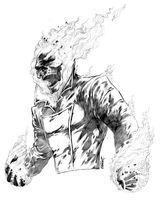 Imprimer le coloriage : Ghost Rider, numéro 17936