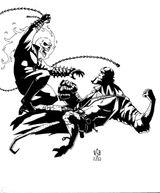 Imprimer le coloriage : Ghost Rider, numéro 17937