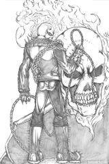 Imprimer le coloriage : Ghost Rider, numéro 17938