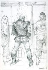 Imprimer le coloriage : Ghost Rider, numéro 1d0451aa