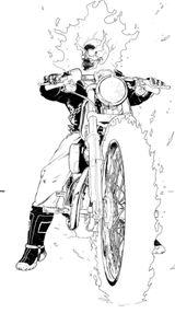 Imprimer le coloriage : Ghost Rider, numéro 2574